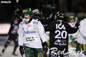19 января, Хоккей с мячом. Скандинавия, шведы взяли тайм-аут.